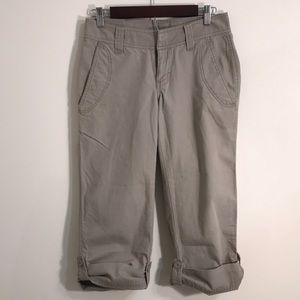 The north face capris cropped size 2
